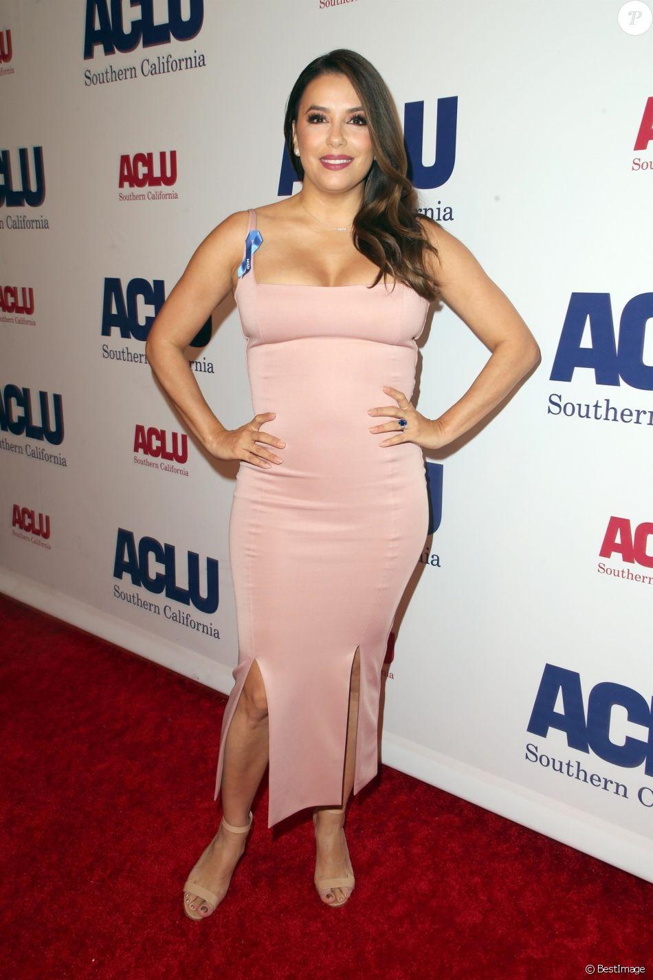 Eva Longoria à la soirée ACLU Bill of Rights à l'hôtel The Beverly Wilshire à Beverly Hills, le 11 novembre 2018