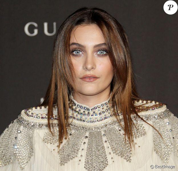 Paris Jackson à la soirée LACMA Art + Film en l'honneur de Catherine Opie et Guillermo Del Toro présentée par Gucci à Los Angeles, le 3 novembre 2018