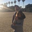 Jérémy Chatelain et Annily, le 30 juillet 2017 à Los Angeles.