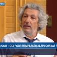 Alain Chabat dans Burger Quiz le 26 septembre 2018, sur TMC.
