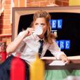 """Marina Foïs animatrice de """"Burger Quiz"""", c'est le 16 janvier 2019 sur TMC."""