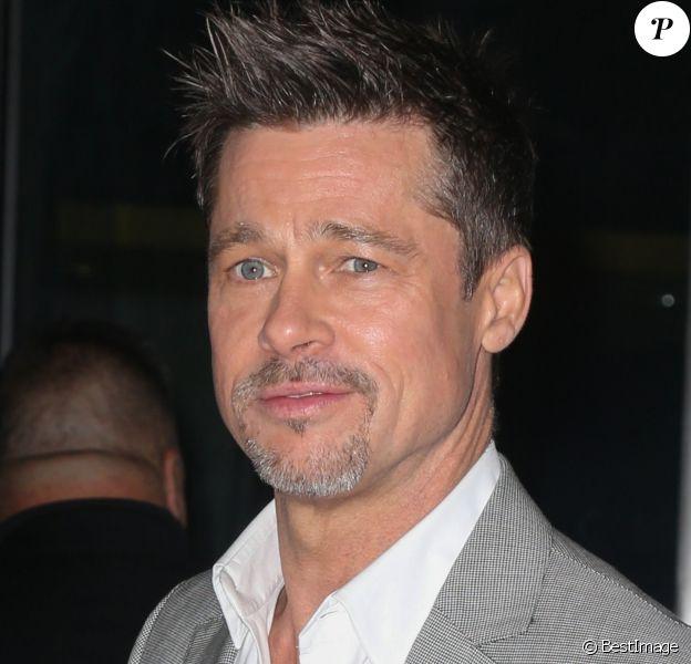 """Info - Betty Russell, la grand-mère de Brad Pitt, est décédée - Brad Pitt arrive à la première de """"Okja"""" à New York, le 8 juin 2017"""