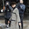 Tilda Swinton - Les célébrités arrivent au deuxième défilé Chanel au Grand Palais lors de la Fashion Week Haute Couture collection printemps/été 2019 de Paris, France, le 22 janvier 2019. © Veeren-CVS/Bestimage