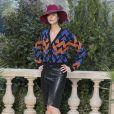 """Anna Mouglalis - Deuxième défilé de mode Haute-Couture printemps-été 2019 """"Chanel"""" au Grand Palais à Paris. Le 22 janvier 2019 © Olivier Borde / Bestimage"""