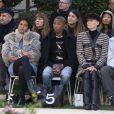 """Helen Lasichanh, Pharrell Williams et Tilda Swinton - Deuxième défilé de mode Haute-Couture printemps-été 2019 """"Chanel"""" au Grand Palais à Paris. Le 22 janvier 2019 © Olivier Borde / Bestimage"""