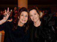 Fashion Week : Valérie Lemercier et Iris Mittenaere, spectatrices aux anges !
