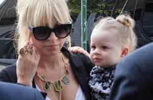 La ravissante Nicole Richie et sa petite Harlow... trop