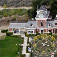 Le ranch de Neverland en 2003.