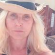 Sophie Favier sans maquillage le 25 janvier 2019.