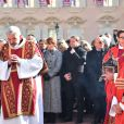 Image de la procession des reliques de Sainte Dévote à Monaco le 27 janvier 2019. ©Bruno Bebert/Bestimage
