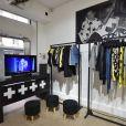 """""""Celinenununu"""", la boutique éphémère de Céline Dion à la galerie Joseph rue de Turenne dans le 3ème arrondissement de Paris le 26 janvier 2019."""