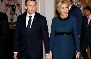 Brigitte Macron en Égypte : La première dame élégante en robe de soirée