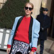 Céline Dion : Look androgyne pour une chic séance shopping