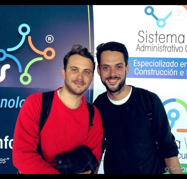 Pierre Caillé et Baptiste des Monstiers libérés au Venezuela, le 31 janvier 2019.