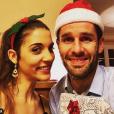 """Emeric et Maëlle de """"L'amour est dans le pré 2018"""" à Noël. Décembre 2018."""