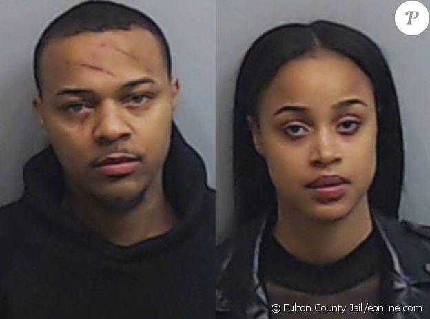 Bow Wow et Leslie Holden lors de leur arrestation le 2 février 2019.