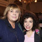 Michèle Bernier fidèle soutien de sa copine Isabelle de Botton avec les VIP