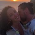 Emmanuelle Rivassoux et Gilles Luka amoureux à Bali,le 7 février 2019.