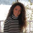 Emmanuelle Rivassoux à la montagne, le 20 janvier 2019.