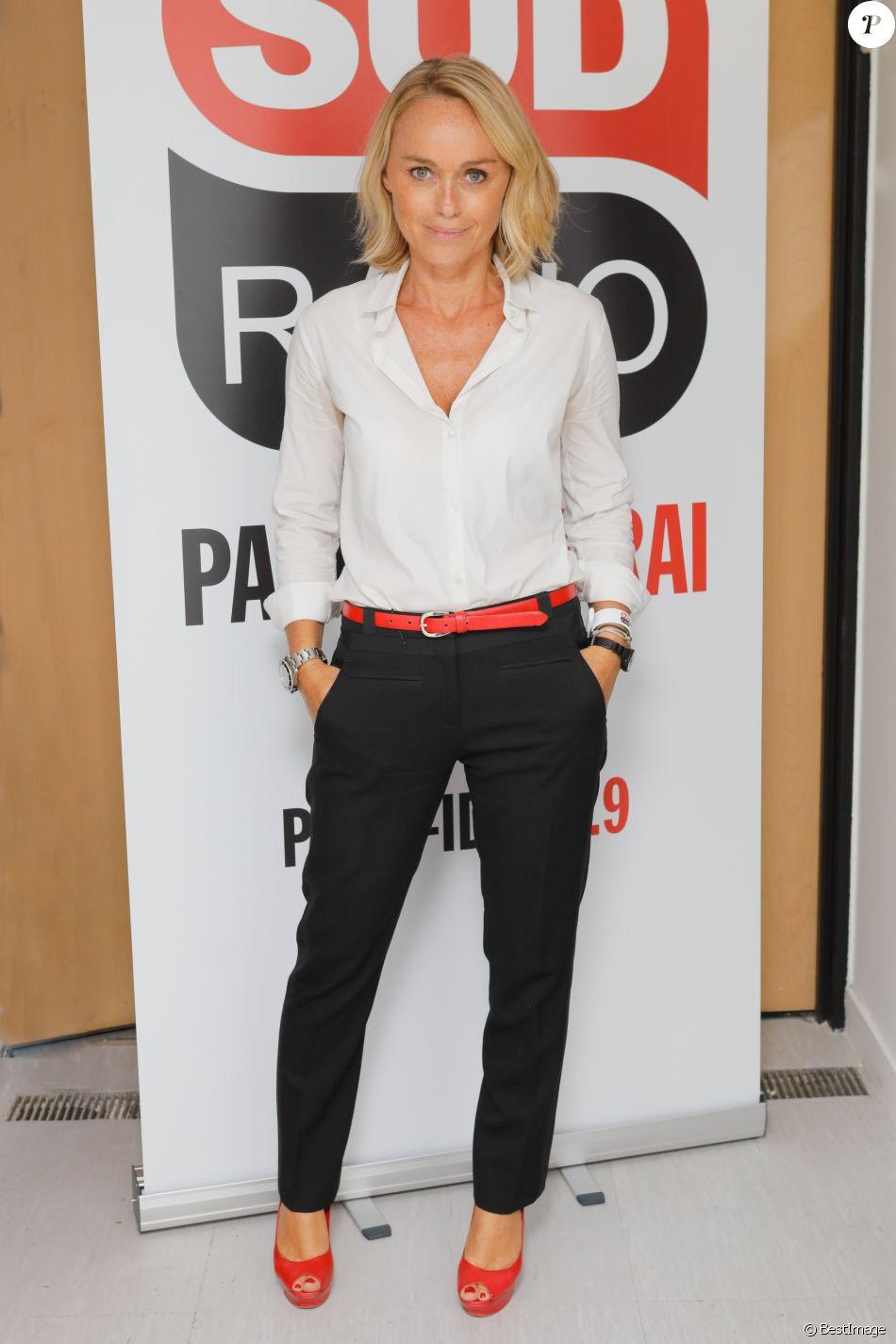 Exclusif - Cécile de Ménibus - Conférence de rentrée de Sud Radio dans ses locaux de l'immeuble Passy Kennedy à Paris, le 13 septembre 2018 © CVS / Bestimage