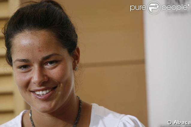 Ana Ivanovic, après son match gagné à Roland Garros, le 29 mai 2009 !