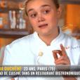 """Alexia dans """"Top Chef 10"""" mercredi 13 février 2019 sur M6."""