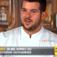 """Guillaume dans """"Top Chef 10"""" mercredi 13 février 2019 sur M6."""