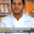 """Ibrahim dans """"Top Chef 10"""" mercredi 13 février 2019 sur M6."""