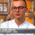 """Maël dans """"Top Chef 10"""" mercredi 13 février 2019 sur M6."""