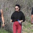 Selena Gomez se promène avec des amis à Los Angeles. Le 22 décembre 2018 Los Angeles.