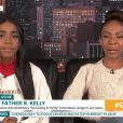 "Andrea Kelly et sa fille Joann dans ""Good Morning Britain"", le 21 janvier 2019."