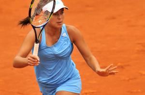 La belle Ana Ivanovic, tenante du titre... déjà éliminée de Roland-Garros !