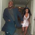 Kim Kardashian et Kanye West. Décembre 2018.