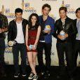 L'équipe de Twilight aux MTV Movie Awards 2009 à L.A, le 31 mai 2009