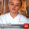 """Alexia lors du quatrième épisode de """"Top Chef"""" saison 10, le 27 février 2019 sur M6."""
