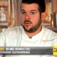 """Guillaume lors du quatrième épisode de """"Top Chef"""" saison 10, le 27 février 2019 sur M6."""