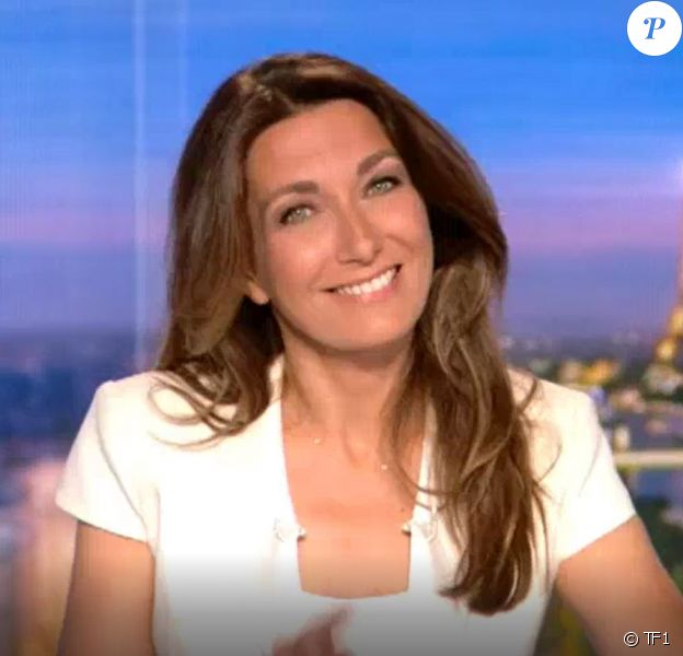 Anne-Claire Coudray - TF1, 15 juillet 2018