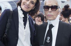 Inès de la Fressange pleure Lagerfeld : 35 ans d'amitié... et une dispute