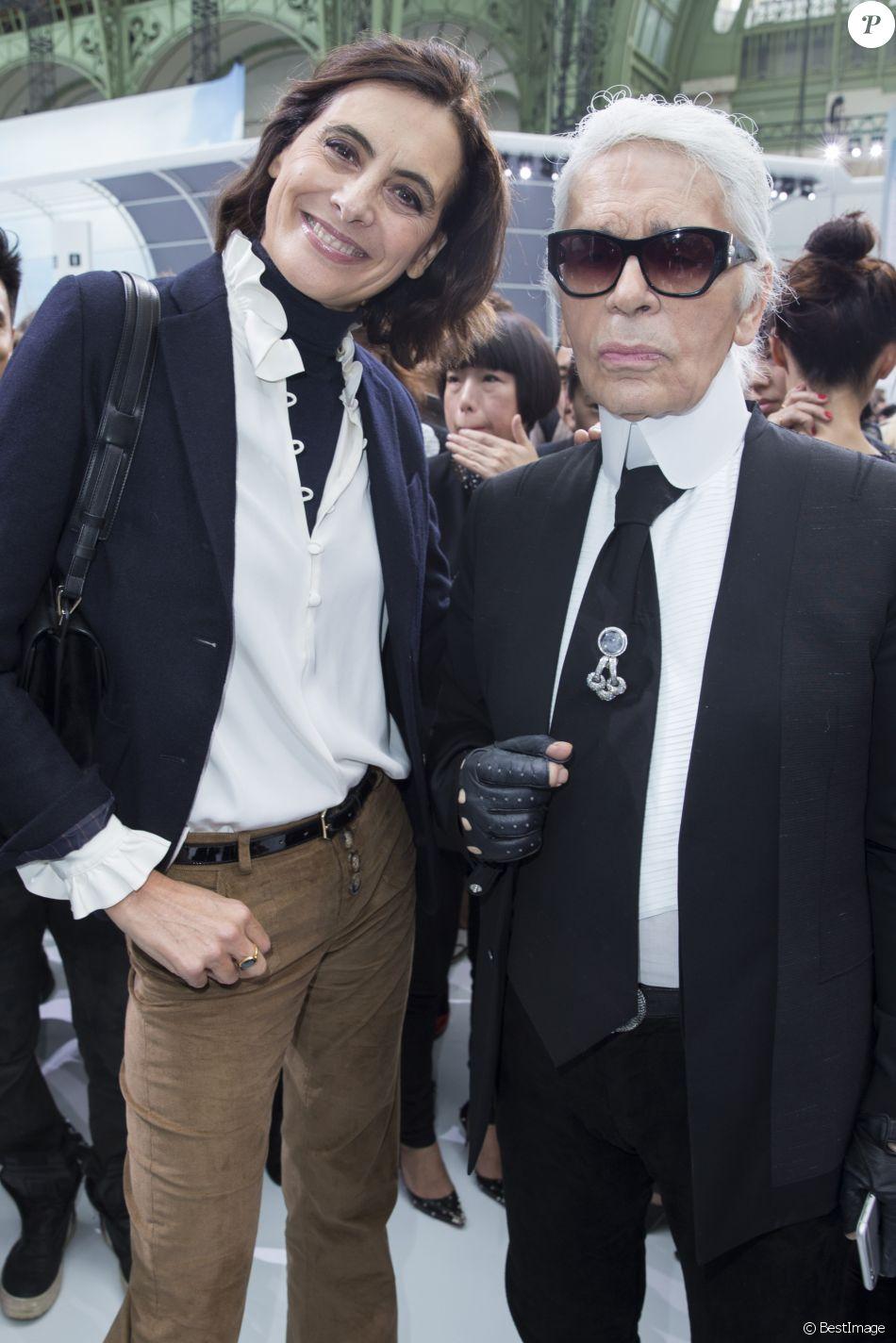 e7588b3c030aa Inès de la Fressange pleure Lagerfeld   35 ans d amitié... et une ...