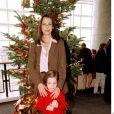 Mathilda May et sa fille Sarah en 1998