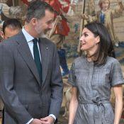 Letizia et Felipe d'Espagne assortis et complices pour les Prix de la Recherche