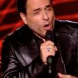 """Gilles San Juan dans """"The Voice 8"""" sur TF1, le 23 février 2019."""