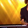 """Léonard dans """"The Voice 8"""" sur TF1, le 23 février 2019."""