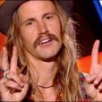 """Maxime dans """"The Voice 8"""" sur TF1, le 23 février 2019."""