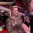 Virginie Efira - arrivant à la cérémonie des César le 22 février 2019