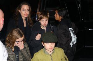 Angelina Jolie en famille : Soirée cinéma avec ses enfants à New York