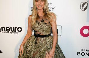 Heidi Klum : Radieuse et amoureuse au côté d'Elton John, en marge des Oscars
