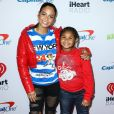 Christina Milian et sa fille Violet Madison Nash à la soirée 102.7 KIIS FM's Jingle Ball 2018 à Inglewood, le 30 novembre 2018.