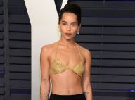 Zoë Kravitz en soutien-gorge aux Oscars : son look sexy coûte une fortune !