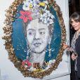 """Exclusif - L'artiste Cali - Vernissage de l'exposition """"Femmes je vous aime"""" à l'Hôtel Plaza Athénée à Paris, le 25 février 2019. © Cyril Moreau/Bestimage"""